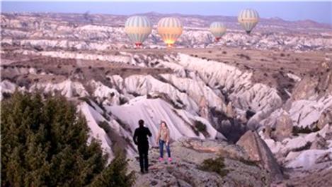 Kapadokya'yı geçen yıl 992 bin 620 turist gezdi