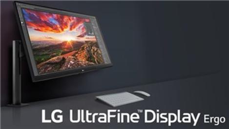 LG'den ergonomik ve 4K monitör!