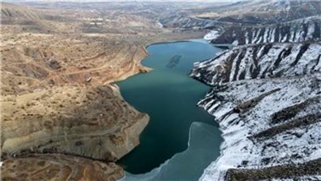 Kuraklık Erzincan'daki sulama barajını da etkiledi
