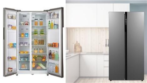 Dijitsu gardırop tipi buzdolabında teknoloji ve tasarım bir arada