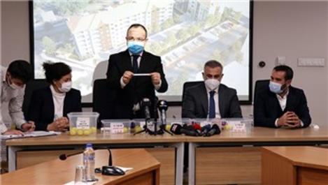 Elazığ'da depremzedeler için 117 konutun kurası çekildi