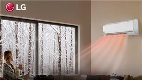 LG Dualcool klimalar ile kışın zahmetsizce ısının!