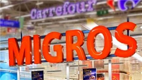 Migros ve CarrefourSA'dan 34 mağaza için anlaşma