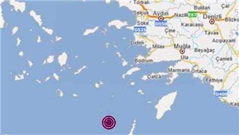 Ege Bölgesi, 4.0 büyüklüğünde depremle sallandı!