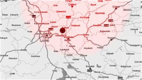 Ankara'da 4.5 büyüklüğünde korkutan deprem!