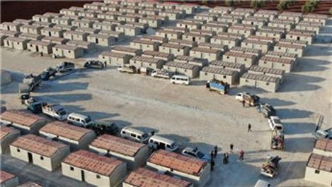 Briket evler çadırda kalan Suriyelilerin umudu oldu