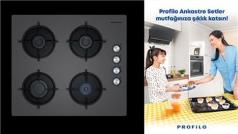 Profilo ankastre ocak ile aynı anda 4 tencerede yemek pişirin!