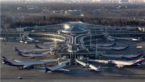 Rusya'nın en büyük havalimanında yolcu trafiği yüzde 60 azaldı
