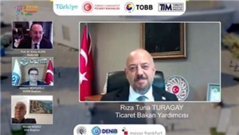 Ev tekstili sektörünün sanal fuarı Virtual Hometex Turkey başladı