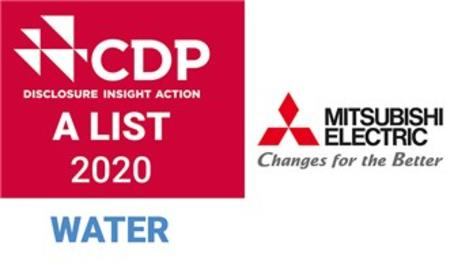 Mitsubishi Electric, tekrar İklim ve Su 'A Listesinde'