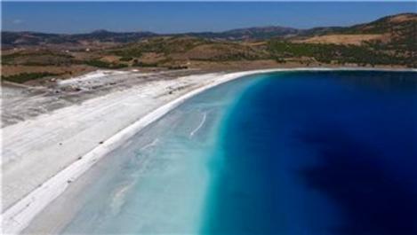 Salda Gölü, 2020'de 800 bin kişiyi ağırladı