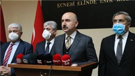 Bakan Karaismailoğlu'ndan Amanos Tüneli müjdesi!