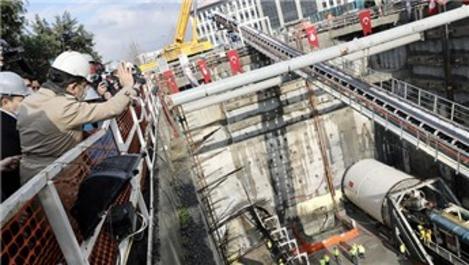 Çekmeköy-Sultanbeyli Metro Hattı'nda 2. TBM kazıya başladı