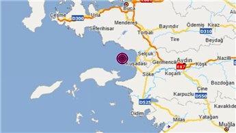Ege, 4.0 ve 3.6 büyüklüğünde depremlerle sallandı