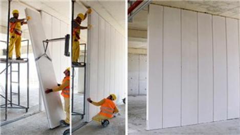 Yüksek duvarlar için Ytong Bölme Paneli!