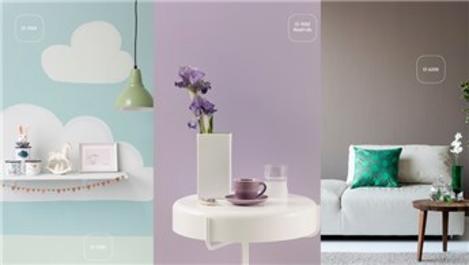 Polisan Kansai Boya'nın 2021 trend renkleri evlerde!