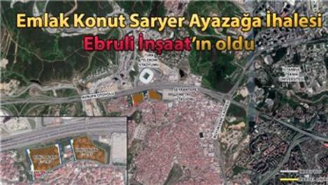 Seyrantepe Polis Lojmanları arsası Ebruli İnşaat'a satıldı!