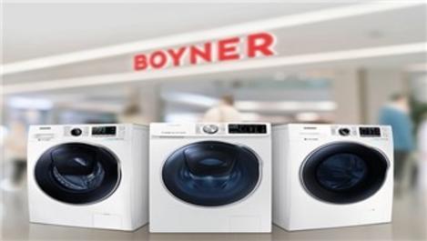 Samsung çamaşır makineleri Boyner'den hediye çeki kazandırıyor