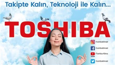 Toshiba Klima'nın sosyal medya hesapları yayında