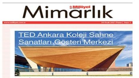 Milliyet Mimarlık Dergisi ilk sayısını çıkarıyor