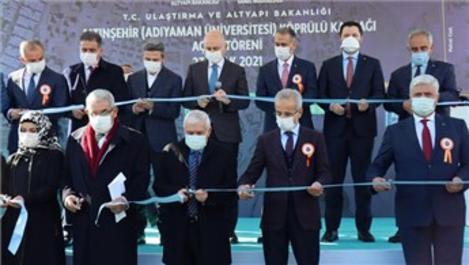 Adıyaman Altınşehir Köprülü Kavşak hizmete açıldı!