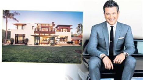 Matt Damon, Los Angeles'taki evini satışa çıkardı
