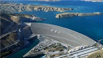 Atatürk Barajı 2020'de 7,2 milyar kilovatsaat enerji üretti