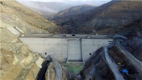 Bahçecik Barajı'nda fiziki tamamlanma yüzde 60'a ulaştı