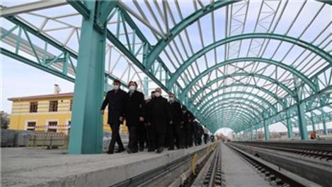 TCDD Genel Müdürü Uygun, YHT istasyon merkezi inşaatını inceledi