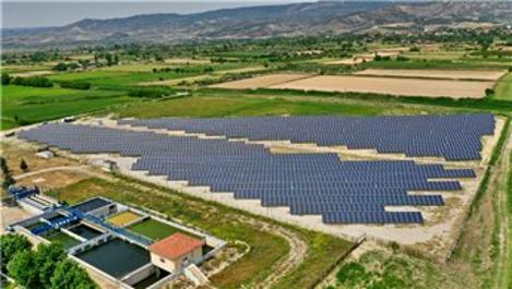 Denizli'de güneşten 2,7 milyon kilovatsaat elektrik üretildi