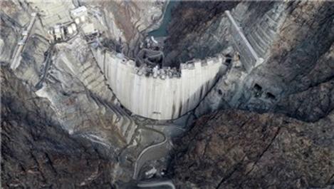 Yusufeli Barajı'nda inşaatın yüzde 96'sı tamamlandı