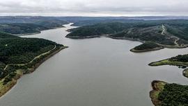 İstanbul barajlarındaki su seviyesi %34,22'ye yükseldi