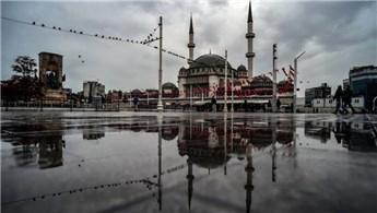 Taksim Camisi'nin dış cephesi tamamlandı!