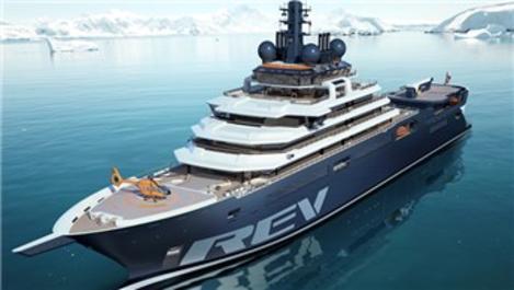 REV Ocean; hem araştırma gemisi, hem yüzen otel!