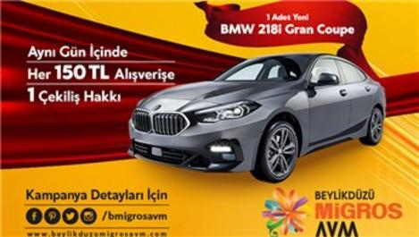 Beylikdüzü Migros AVM'den BMW 218i Gran Coupe hediye!