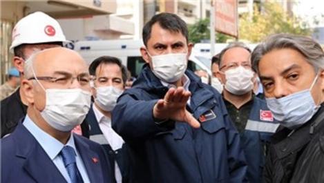 Bakan Kurum: İzmir'de olumsuz bir durum yok!