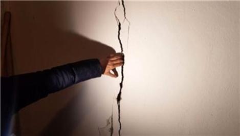 Kayseri'de 4.6 büyüklüğünde deprem! Evlerde çatlaklar oluştu