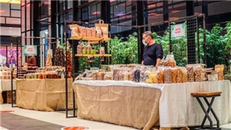 Bilkent Center'da doğal ürünler pazarı açıldı