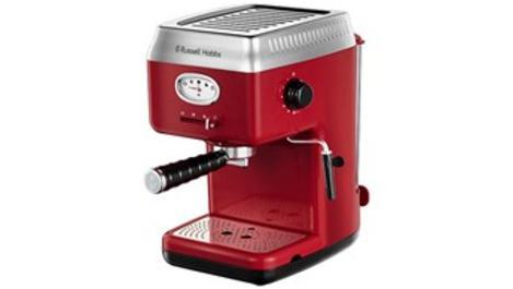 Russell Hobbs Retro Kahve Makinesi mutfaklara şıklık katıyor