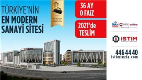 İSTİM Tuzla'da Büyük Fırsat! Sıfır Faiz, 2021 Teslim!