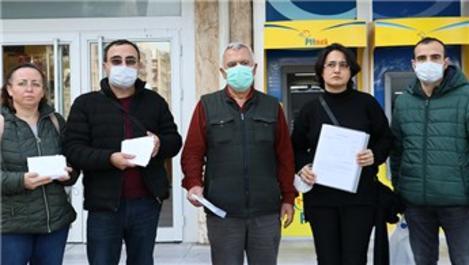İzmir depreminde yıkılan binanın yerine park yapılması isteniyor