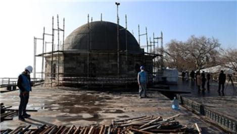 Tarihi Fatih Köşkü'ndeki restorasyonda sona gelindi