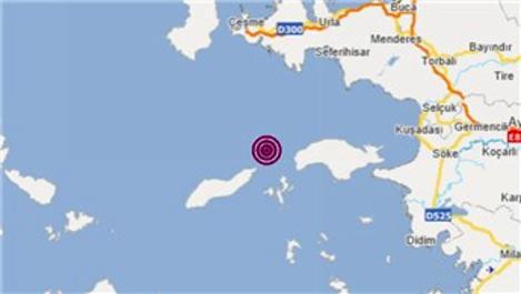 İzmir Urla'da 4.4 büyüklüğünde deprem!