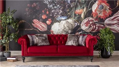 Weltew Home ile Sevgililer Günü'ne özel kırmızı koltuk!
