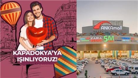 ANKAmall, en aşık çiftleri romantik şehirlere ışınlıyor