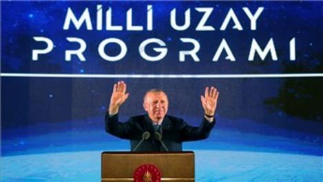 Cumhurbaşkanı Erdoğan ''2023'te Ay'a gideceğiz''