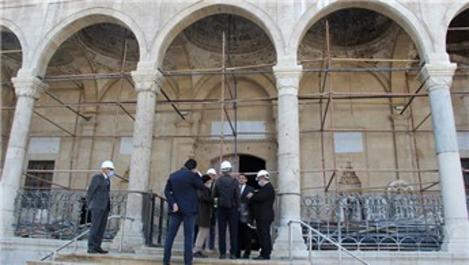 Hacı Yusuf Taş Camisi'nin onarımının ağustosta tamamlanacak