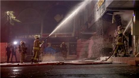 İSTOÇ Ticaret Merkezi'nde yangın çıktı!
