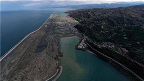 Rize-Artvin Havalimanı'nın yüzde 80'i tamamlandı