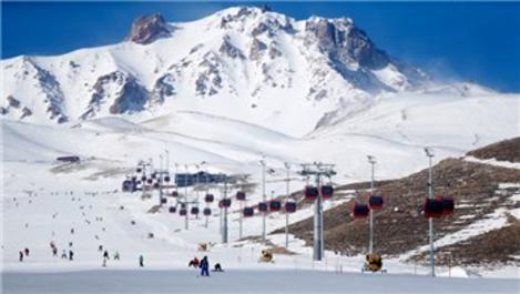 Erciyes, kış turizmi sebebiyle doldu taştı!